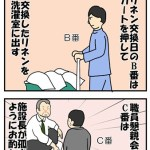 当番制の介護業務