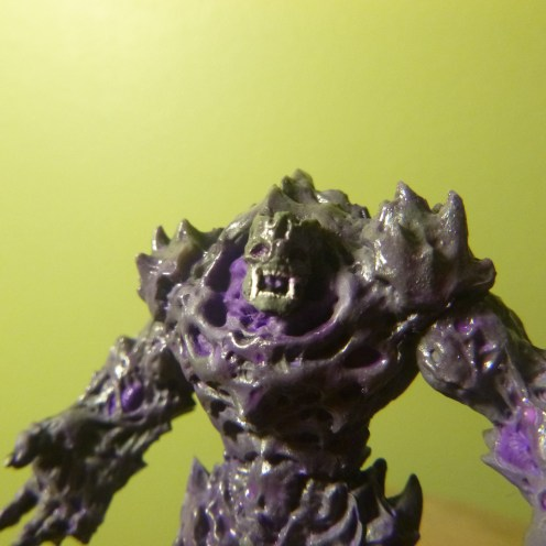 Mantic's Plague 1st Gen Miniature altered to resemble Phantasy Star Dark Force