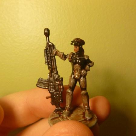 Painted Reaper Bones Sarah Biltzer miniature