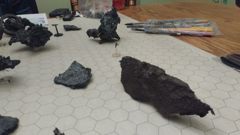 Sensors detect the target but something is off about that piece of wreckage
