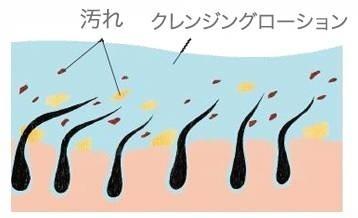 頭皮の汚れを落とすアメリオールクレンジングローション
