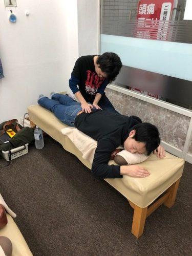 腰から足にかけての痛みや症状に対しての勉強会