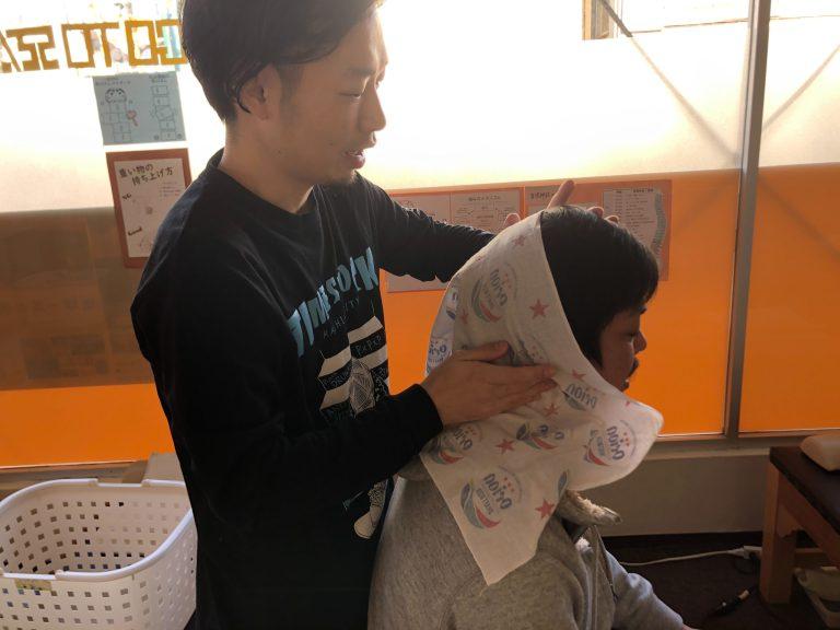 中沢先生がお昼に教えに来てくれました【新しい情報をシェアしてくれました】