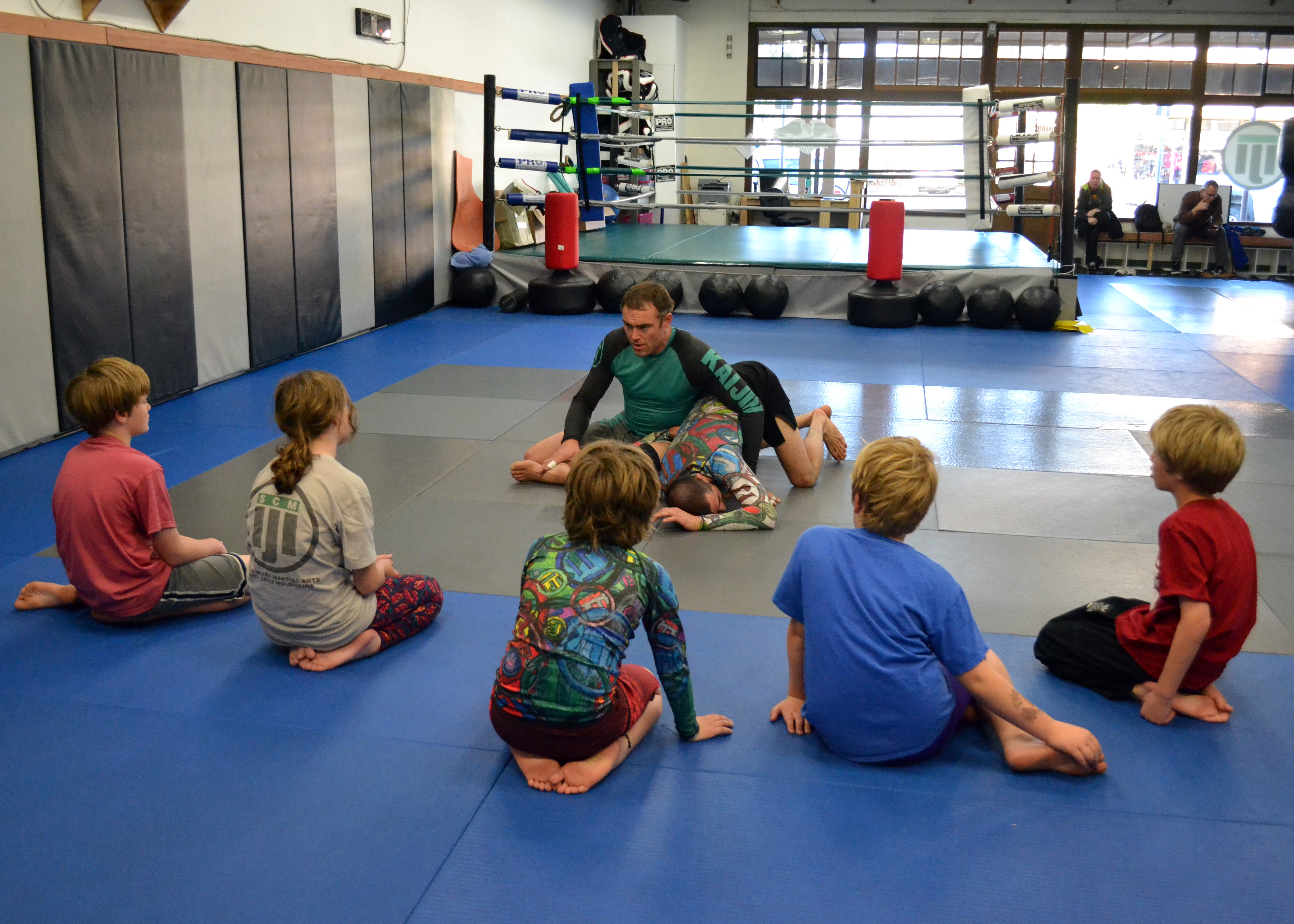 Kaijin MMA Kids No Gi Jiu-Jitsu Class In Santa Cruz
