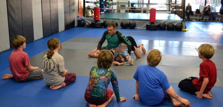 Kaijin MMA Kids No Gi Jiu-Jitsu Class In Santa Cruz