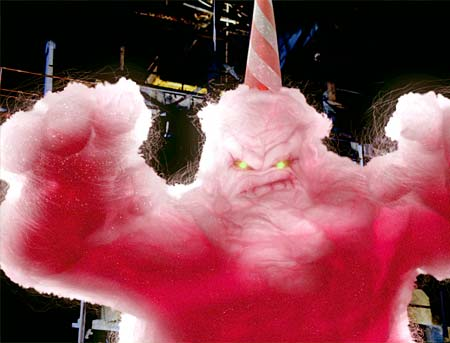 Image result for cotton candy monster