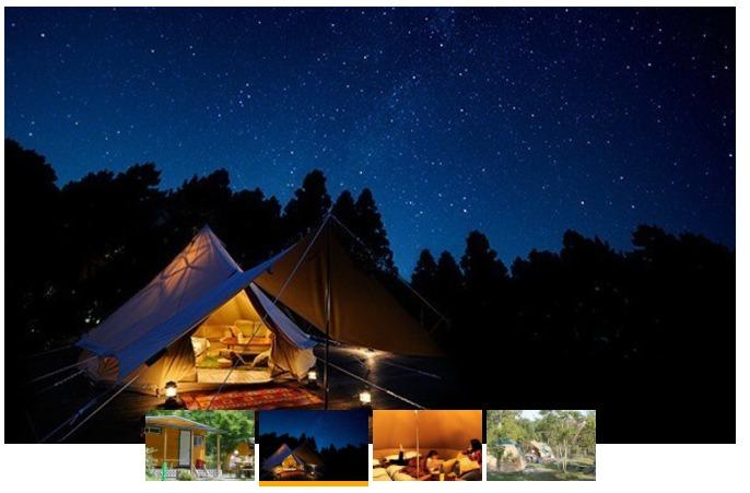 ツインリンクもてぎ 森と星空のキャンプヴィレッジ