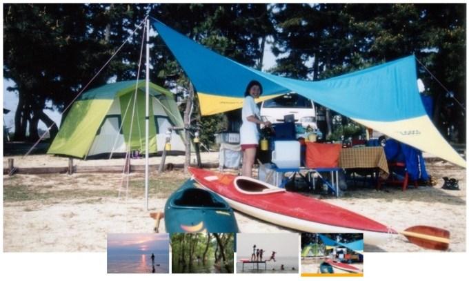 ビワコマリンスポーツオートキャンプ場風景