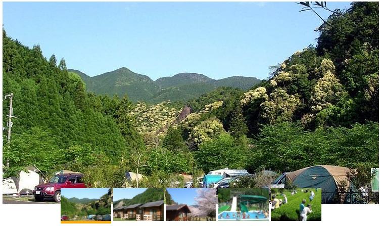 円満地公園オートキャンプ場の風景