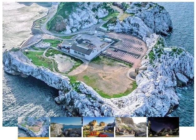 白崎海洋公園(大浴場付きキャンプ場)の様子