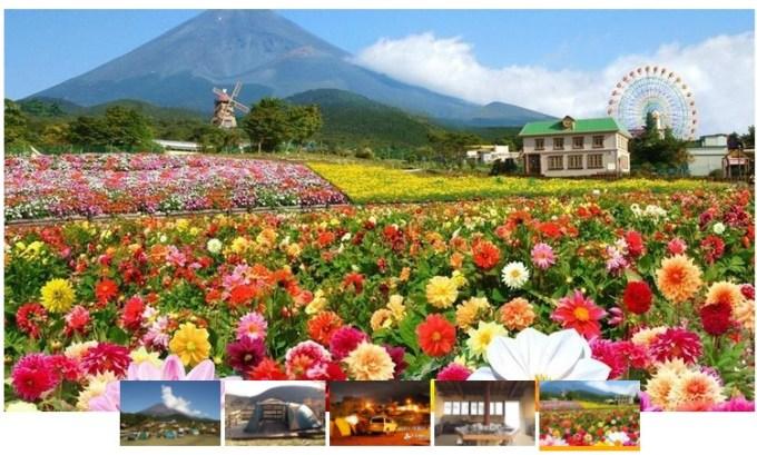 キャンピカ富士ぐりんぱの風景