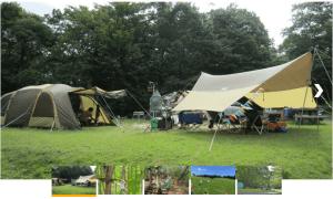 もみのき森林公園オートキャンプ場の風景
