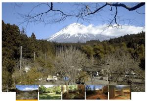 新富士オートキャンプ場の風景