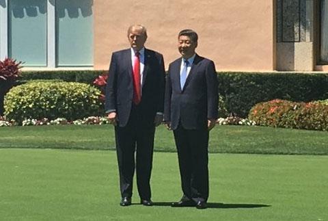 トランプ大統領と習主席