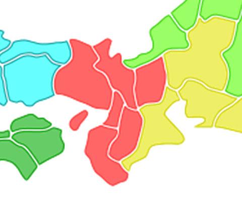 衆議院選挙近畿ブロック