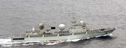 「東調」(ドンディアオ)級情報収集艦