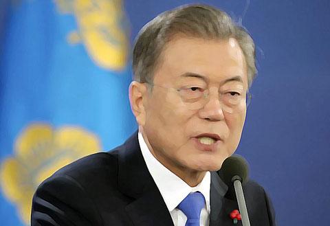 韓国大統領文在寅