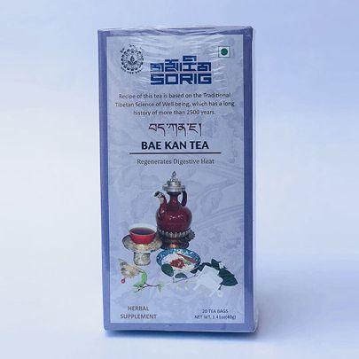 Тибетский Тонизирующий Чай. Bae Kan Tea 40 г,  Сориг
