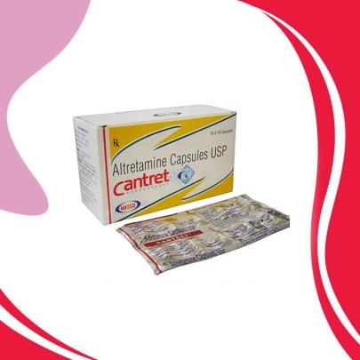 CANTRET  50 MG 10 CAPS Алтретамин. Противораковая терапия. Индия