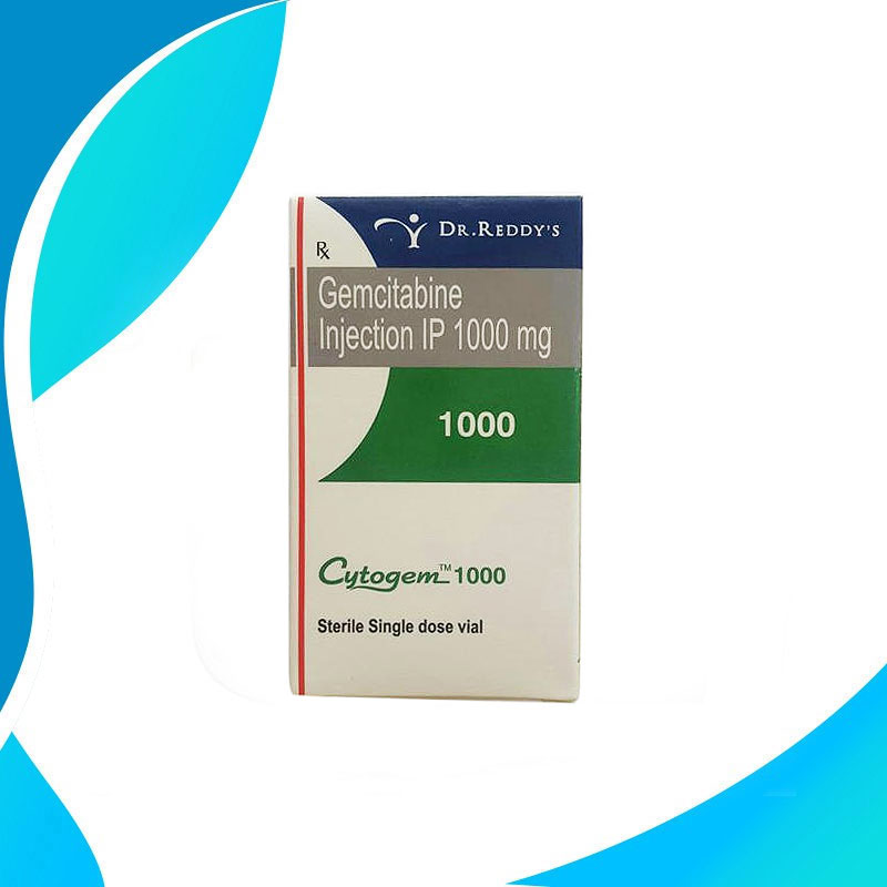 CYTOGEM 1000MG. Гемцитабин. Противораковый препарат. Индия