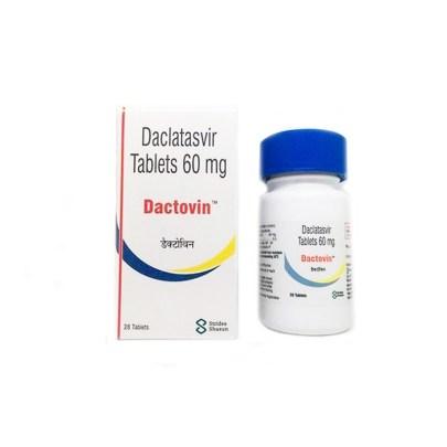 DACTOVIN 60 MG. Лечение Гепатита C всех Генотипов. ИНДИЯ