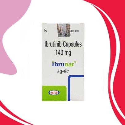 IBRUNAT 140MG 30CAPS. Ибрутиниб. Противораковая терапия. Индия