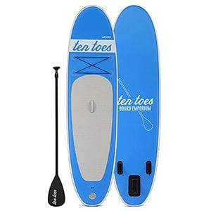 Best Stand Up Paddle Board for Yoga - Ten Toes
