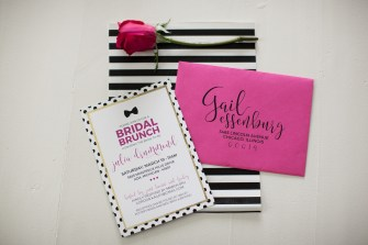 Kate Spade Bridal Shower Invitation