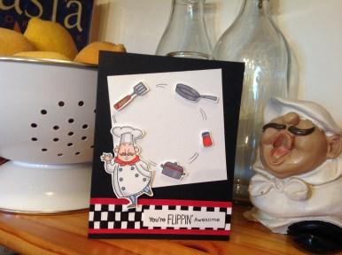 """""""Foodies Unite"""" greeting cards"""