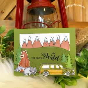 Drive Wild Greeting Card Photo