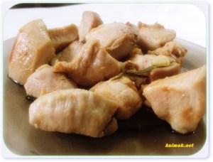 Пилешко месо с бяло вино и розмарин
