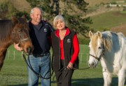 Elder and Marilyn Jenks (Ambassadors): Elder and Marilyn have been cornerstones of the society over many years, having been involved at the coalface from the very first muster. They have worked tirelessly for the welfare of Kaimanawa Horses and are now stepping into the role of Ambassadors for the society.
