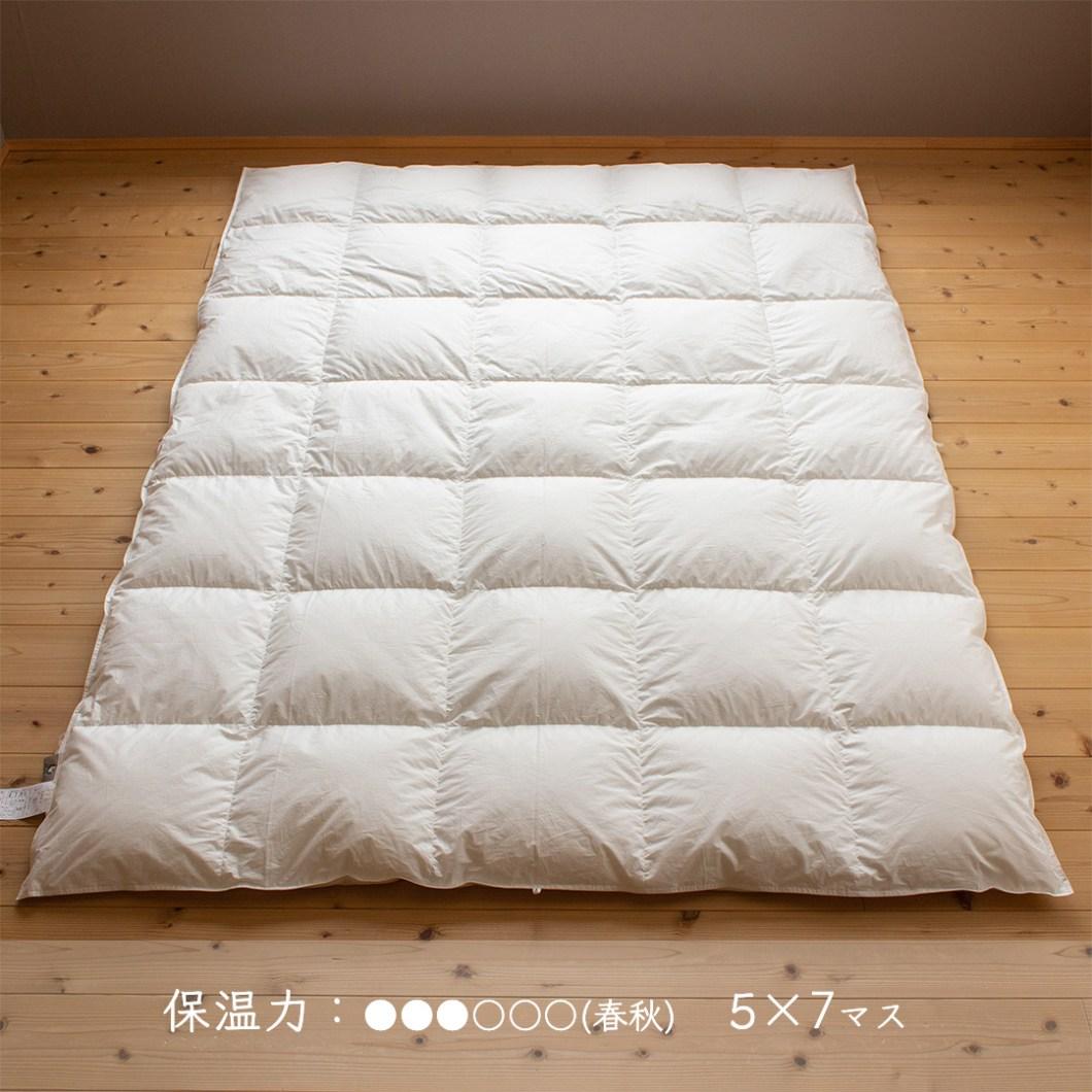 羽毛布団保温力3