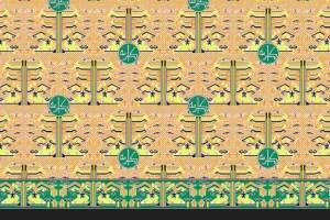 batik haji