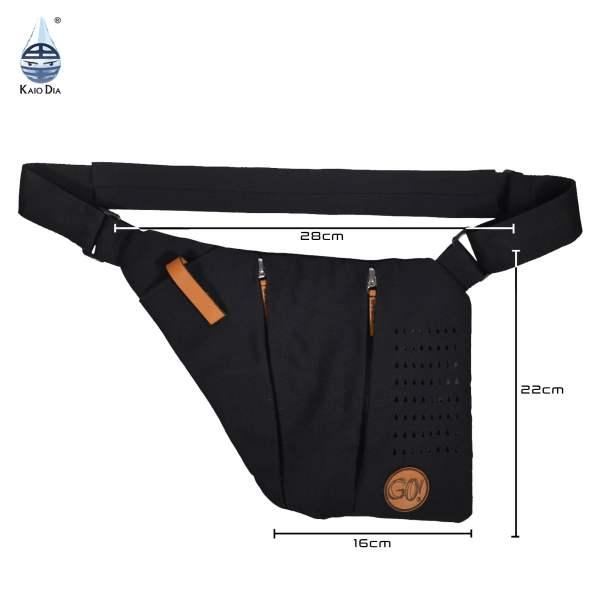 Dia-Go Black Knight perfecte gekoelde tas om insuline te koelen en diabetesspullen mee te nemen, tijdens sporten en activiteiten