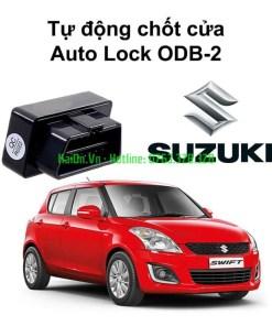 Bộ chốt cửa tự động Auto lock Unlock xe Suzuki