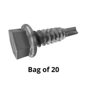 EDGING - SCREW PACK x 20