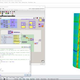 Génération paramétrique des panneaux avec Grasshopper
