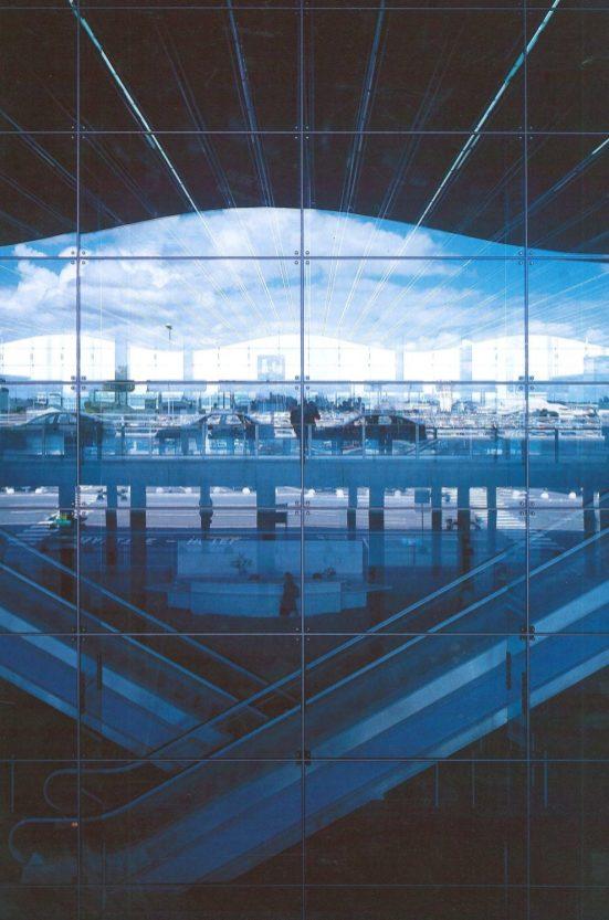 Façade du Hall B de l'aéroport de Bordeaux Photo ADP