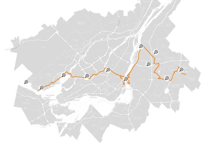 Rando cyclo Oka Saint-Hilaire