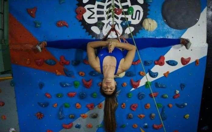 Khin Myat Thu Zar mélange Yoga et escalade