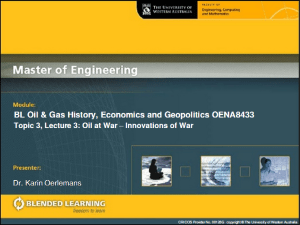 oil and gas lecture slide