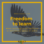 the freedom to learn