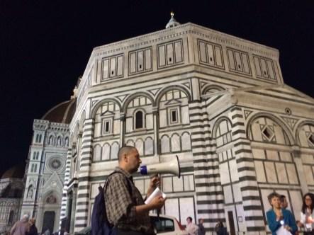 Fiaccolata di luce e veglia di preghiera contro tutte le marginalità e l'omotransfobia (Firenze, 17 maggio 2016)