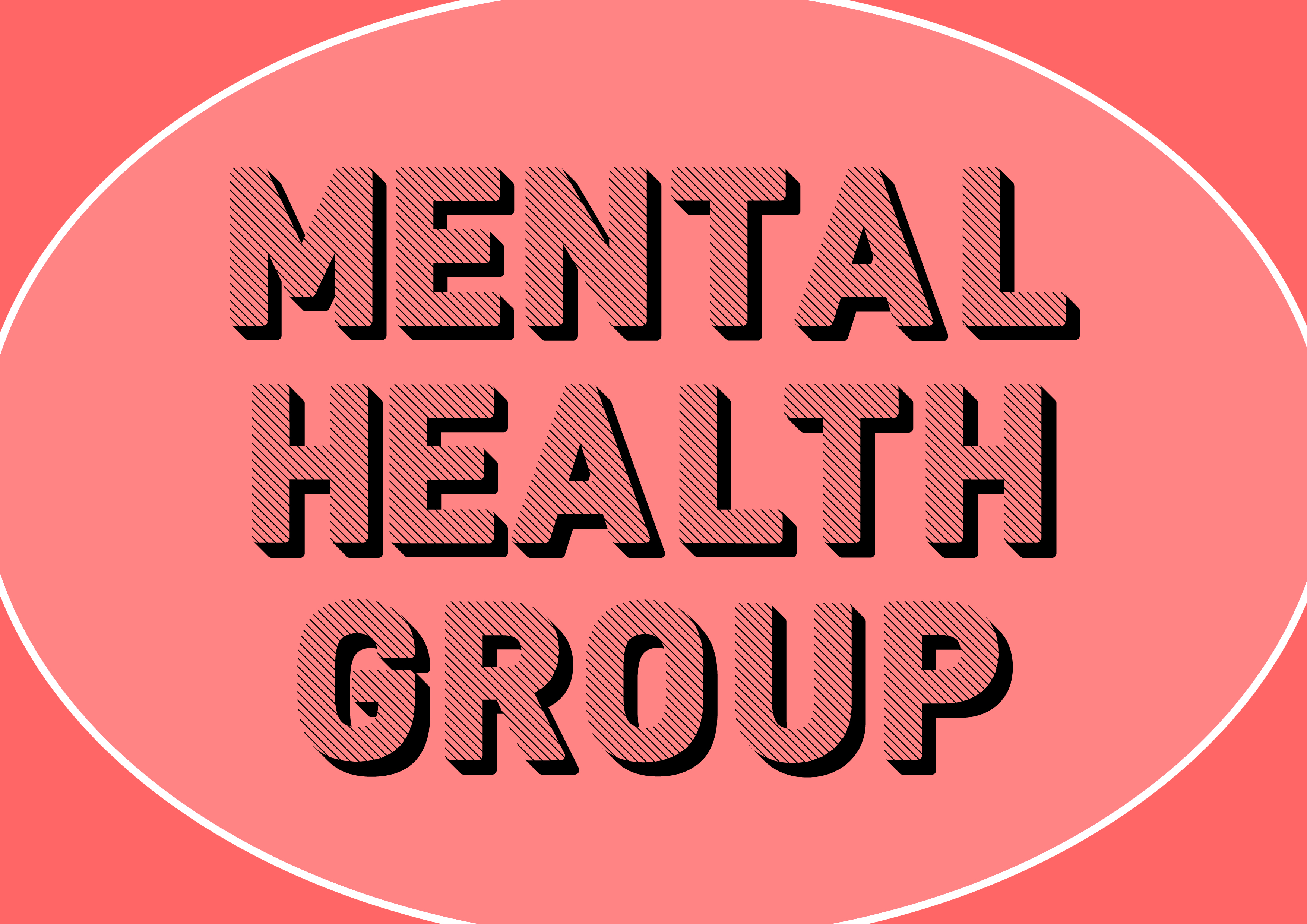 Mental Health group (on a peach background)