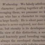 Thoreau Journal 28.04.1841 - Charakter der Menschen