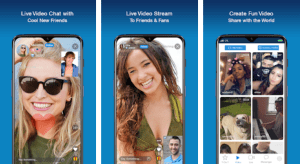 Online video chatting app detail in hindi, Cake