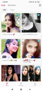 Social app detail in hindi, Live Stream