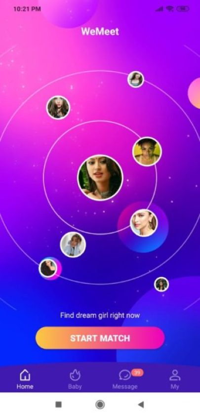 Most new video chat app । video chat with strangers- WeMeet