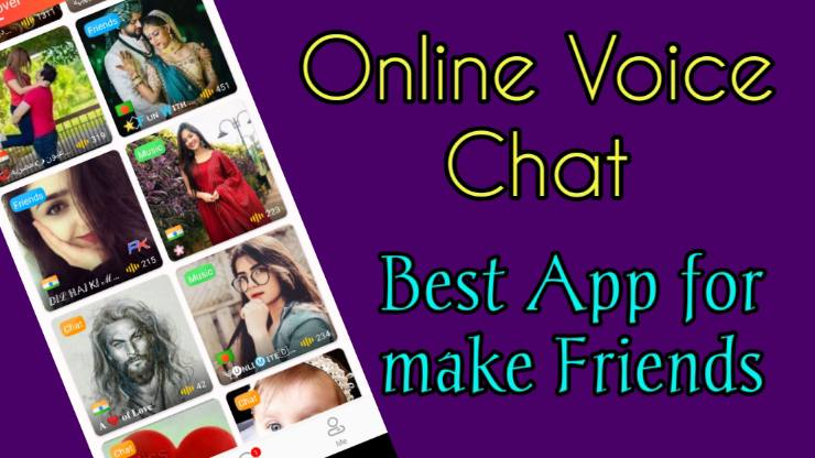 Vochat Voice Chat app